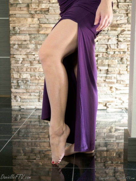Danielle-FTV-Big-Tits-in-Slinky-Purple-Dress-013