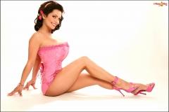 Denise-Milani-Huge-Boobs-in-Pink-Corset-018