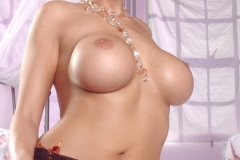 Dylan Rider Big Tits Bright Orange Corset 244