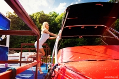 Eliza Miller Big Boobs on Holiday ends in Black Bikini 003