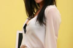 Emma Glover Big Tits Red Miniskirt Secretary 001