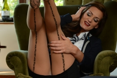 Emma Kate Dawson Strips out of her Uniform for St MacKenzies 004