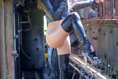 Erika Larson Big Tits and Thigh High Leather Boots 001