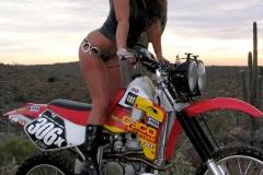 Eva Notty Huge Tits on a Motorbike 002