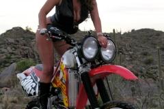 Eva Notty Huge Tits on a Motorbike 003