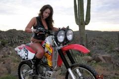 Eva Notty Huge Tits on a Motorbike 006