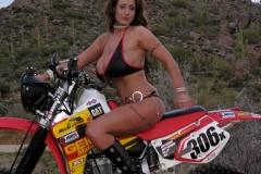 Eva Notty Huge Tits on a Motorbike 010