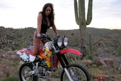 Eva Notty Huge Tits on a Motorbike 015