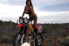 Eva Notty Huge Tits on a Motorbike 018