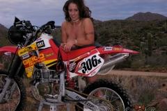 Eva Notty Huge Tits on a Motorbike 022