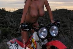 Eva Notty Huge Tits on a Motorbike 035