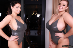 Ewa Sonnet and Vivan Blush Make Huge Tit Display 005