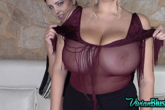 Ewa Sonnet and Vivan Blush Make Huge Tit Display 007