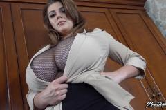 Ewa Sonnet and Xenia Wood create Huge Boob Topless Combination 007