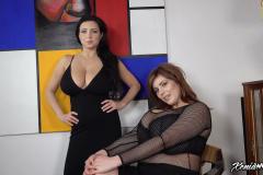 Ewa Sonnet and Xenia Wood create Huge Boob Topless Combination 013