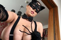 Ewa Sonnet as Huge Boob Halloween Cat 001