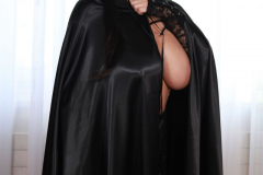 Ewa Sonnet as Huge Boob Halloween Cat 002