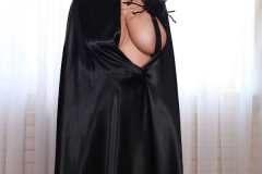 Ewa Sonnet as Huge Boob Halloween Cat 005