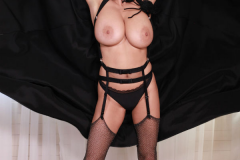 Ewa Sonnet as Huge Boob Halloween Cat 007