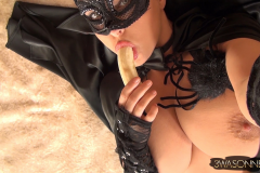 Ewa Sonnet as Huge Boob Halloween Cat 014