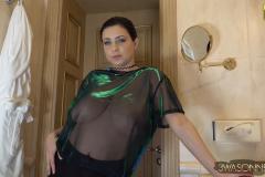 Ewa Sonnet Big Boobs in a Seethrough Shirt 001