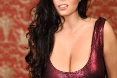 Ewa Sonnet Big Boobs Tight Red Dress 02