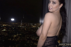 Ewa Sonnet Huge Boobs and Black Lacy Corset 007
