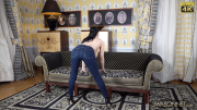 Ewa Sonnet Huge Boobs in a Seethrough Body 008