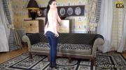 Ewa Sonnet Huge Boobs in a Seethrough Body 009