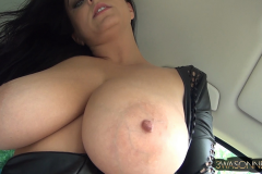 Ewa Sonnet Huge Boobs Tight Rubber Top 010