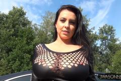Ewa Sonnet Huge Boobs Tight Rubber Top 014