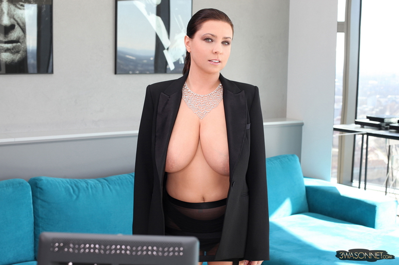 Ewa-Sonnet-Huge-Tits-i-Tight-Business-Jacket-007