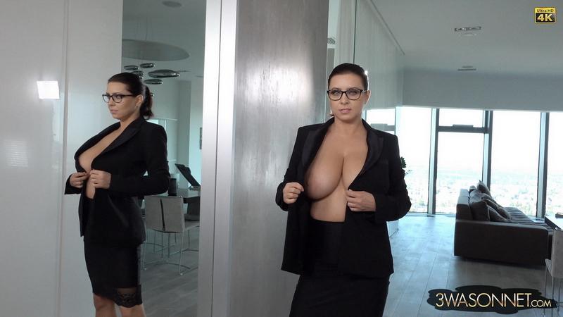 Ewa-Sonnet-Huge-Tit-Secretary-with-no-Bra-002