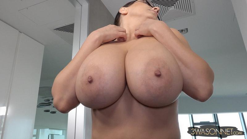 Ewa-Sonnet-Huge-Tit-Secretary-with-no-Bra-014