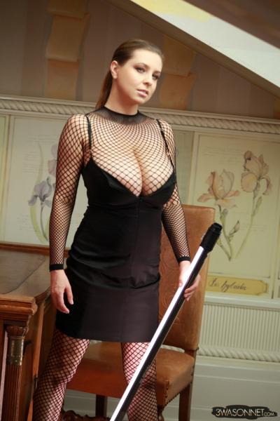 Ewa-Sonnet-Huge-Titis-in-Fishnet-Dress-003