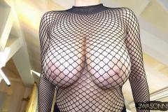 Ewa-Sonnet-Huge-Titis-in-Fishnet-Dress-019