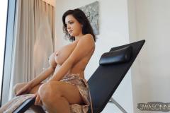 Ewa-Sonnet-Huge-Tits-in-Lacy-Dress-012