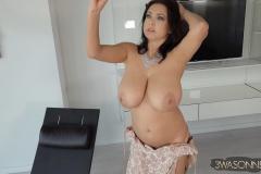 Ewa-Sonnet-Huge-Tits-in-Lacy-Dress-020