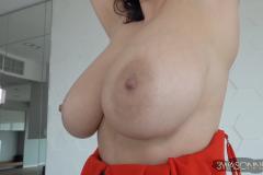 Ewa-Sonnet-Huge-Tits-in-Red-Genie-Dress-012