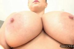 Ewa-Sonnet-Huge-Tits-in-Slinky-Red-Dress-019