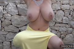 Ewa-Sonnet-Huge-Tits-in-Very-Tight-Yellow-Dress-021