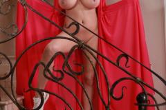 Ewa-Sonnet-Huge-Tits-Look-Fantastic-in-Pink-Dress-032