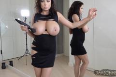 Ewa-Sonnet-Huge-Tits-Sexy-Black-Party-Dress-010