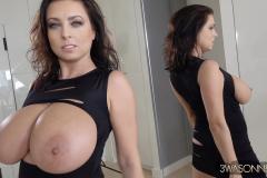 Ewa-Sonnet-Huge-Tits-Sexy-Black-Party-Dress-015