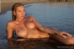 Fabiana-Big-Tits-in-Silver-Mesh-Dress-012
