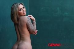 Gemma Massey Big Boobs asks Anyone for Tennis? 013