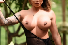 Gemma Massey Big Boobs in a Really Tight Swimsuit 008