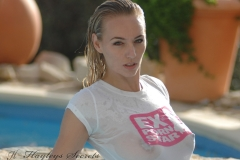 Hayley Marie Coppin Big Boobs Wet Shirt 006