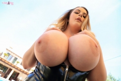 Holly-Garner-Huge-Tits-in-a-Leathedr-Basque-011