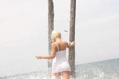 Ines-Cudna-Big-Tits-IN-White-Dress-on-the-Beach-005